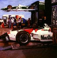 Marlboro Race Car