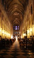 down the aisle of notre dame