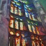 """Sagrada Stained Glass"" by JonBradham"
