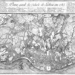 """1785 Map of Lisbon"" by synaesthetics"