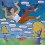 """Falling"" by RavenRoostStudio"