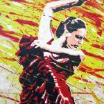 """SPANISH DANCER (2010)"" by tomdeacon"