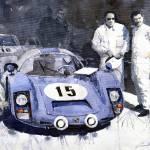 """Porsche 906 Daytona 1966 Herrmann-Linge"" by shevchukart"