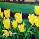 """""""Yellow Garden"""" by westwindranchcreations"""
