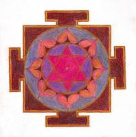 Meditation art-Uniqueness Yantra