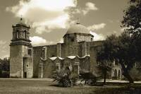 San Jose Mission in Sepia