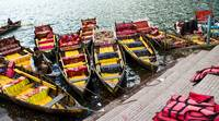 Boats on Naini lake