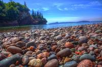 Rocks by Bay of Fundy