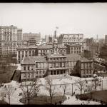 """City Hall, New york City c1900"" by worldwidearchive"