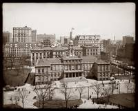 City Hall, New york City c1900 by WorldWide Archive
