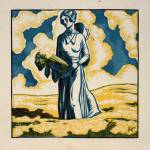 """""""Woman in field with celery"""" by postpainting"""