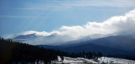 Tenmile Range Clouds (Color)