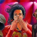 """Michael Jackson Farewell Triple"" by Ebenlo"