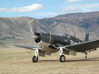 Corsair F4U Warbirds over Wanaka 2010 NZ