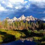 """The Grand Tetons In Morning Light"" by BrentC"