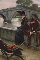 Richmond Bridge by James Jacques Joseph Tissot