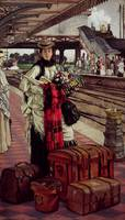 Waiting at the Station by Tissot