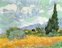 Wheatfield with Cypresses by Vincent van Gogh