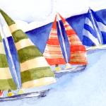 """""""Sailboats"""" by theparables"""