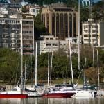 """""""Boats at Marina da Glória Rio de Janeiro Brazil"""" by einsiedler"""