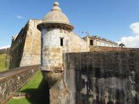 Low Angle View of the San Cristobal Fort