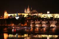 Prague Castle aglow