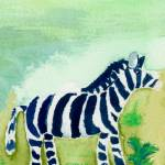 """Baby Zebra Friend"" by theparables"