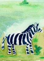 Baby Zebra Friend