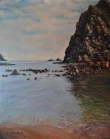Calm Haystack Rock Pool