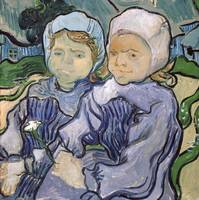 Two Little Girls by Vincent van Gogh