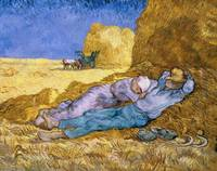 Noon, or The Siesta, after Millet by Van Gogh