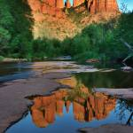 """Cathedral Rock at Sunset, Sedona"" by AnnaMiller"