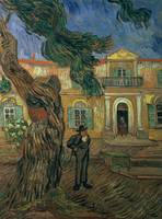 St. Paul's Hospital, St Remy by Vincent van Gogh