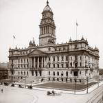 """Court House, Detroit Michigan c1905"" by worldwidearchive"
