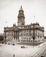 Court House, Detroit Michigan c1905 by WorldWide Archive