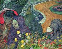 Ladies of Arles by Vincent Van Gogh