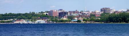 View from across the bay - Burlington, VT