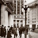 """Palace Hotel from Montgomery Street c1910"" by worldwidearchive"