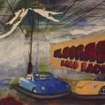 """Mad Bumper Car"" by acreativemind"