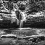"""February at Cedar Falls by Jim Crotty"" by jimcrotty"