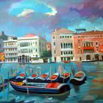 """Canal Grande"" by painterflipper"
