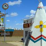 """Route 66 Tucumcari Teepee Curio Shop"" by KeatingArt"