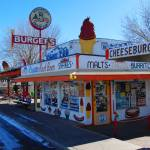 """Route 66: Snow Cap Drive Inn In Seligman, Arizona"" by KeatingArt"