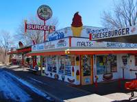 Route 66: Snow Cap Drive Inn In Seligman, Arizona