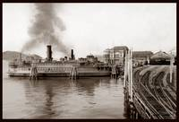 """""""San Francisco"""" Ferry at Oakland Mole & Key Route by WorldWide Archive"""