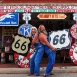 """Route 66: Sand Hills Curiosity Shop in Erik, Oklah"" by KeatingArt"