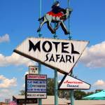 """Route 66: Motel Safari In Tucumcari"" by KeatingArt"