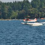 """Seaplane meets Speed Boat"" by Chamberlin"