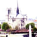 """Notre Dame and St Genevieve"" by anasampaio"