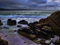 Mood shot, Tasmanian beach